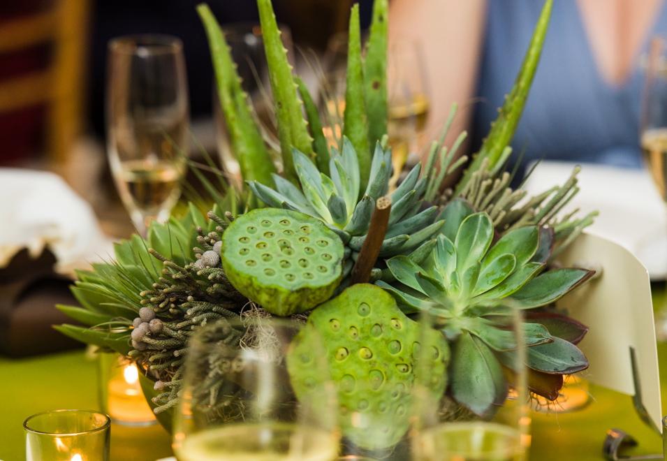 Organic Floral Arrangements