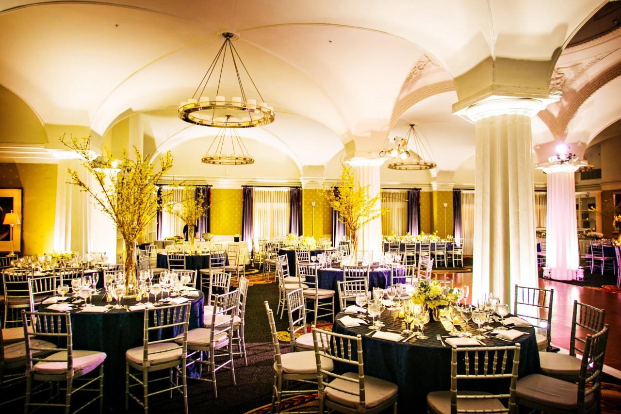 Hotel bellwether wedding