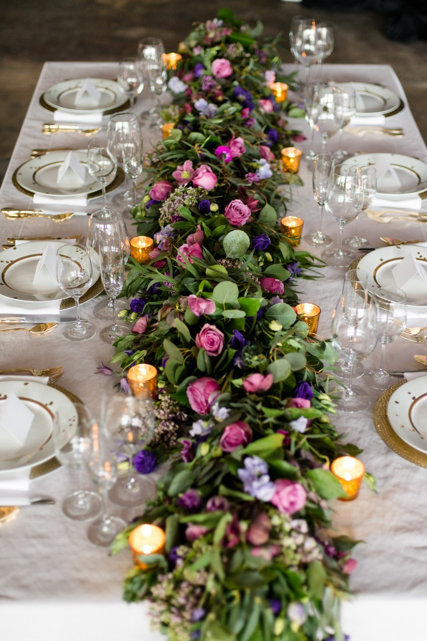 Ask The Florist Table Garlands Petal S Edge Floral Design